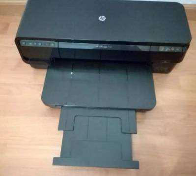 Impresora hp 7110 a4 y a3 cartucho tinta. 2 meses de uso.