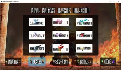 Juego pc final fantasy classics collection (app juegos pc)