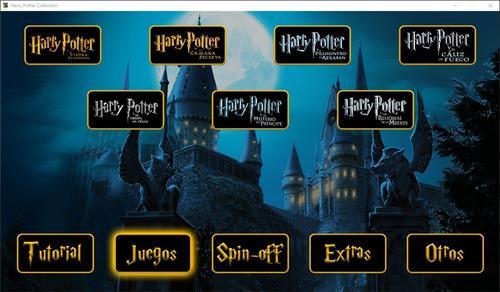 Juego pc harry potter collection (app todos los juegos pc)
