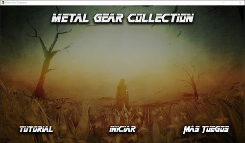 Juego pc metal gear collection (app de juegos en pc)