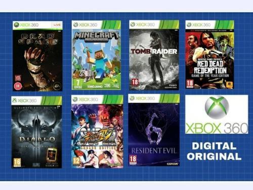 Juegos xbox 360 original digital offline 8 juegos + fifa 19