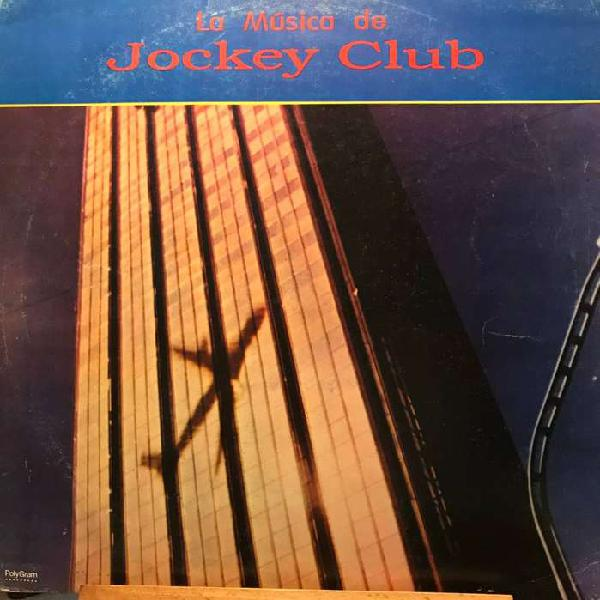 Lp de i.v. .la música de jockey club año 1991