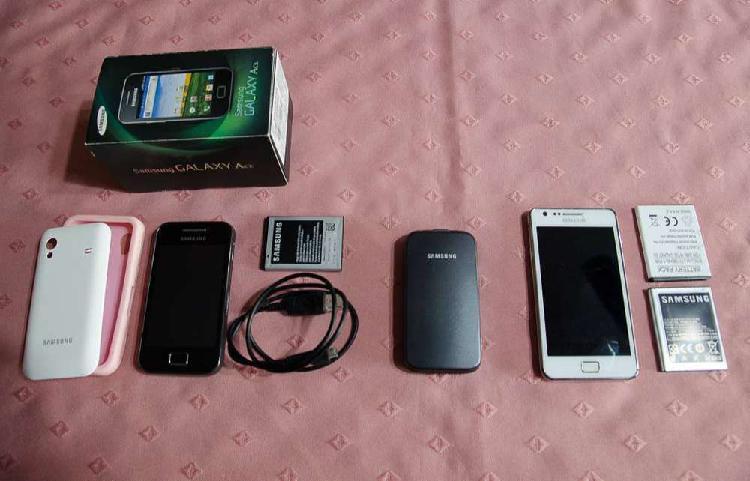 Lote 3 celulares repuesto samsung no funcionan