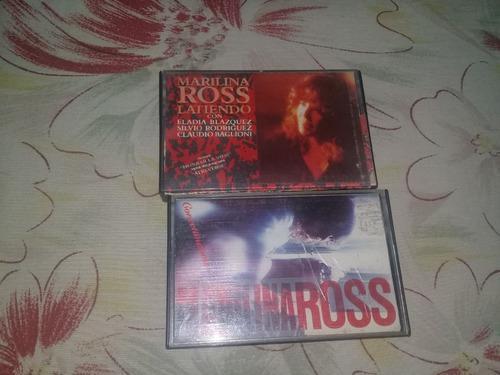 Lote cassettes - marilina ross x 2