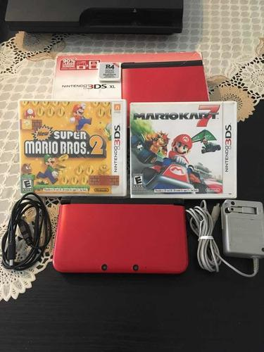 Nintendo 3ds xl. + 100 juegos