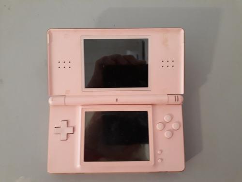 Nintendo ds lite color rosa