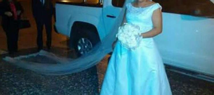 Permuto vestido de novia