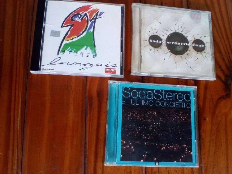 Soda stereo lote x 3 cd