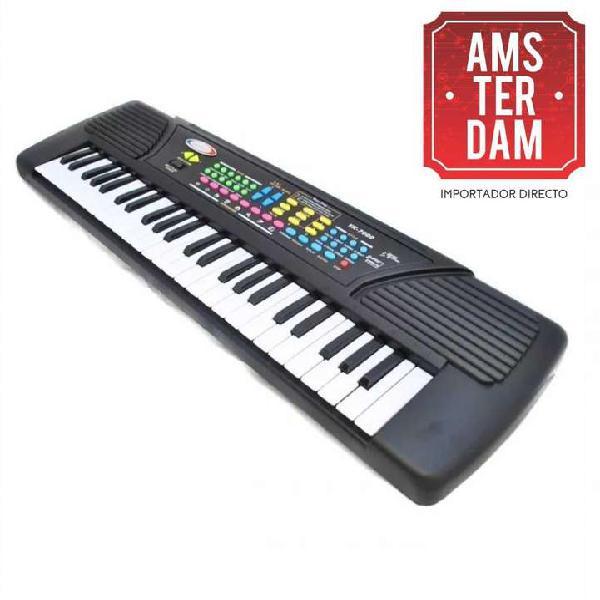 Teclado organo piano sanrai 49 teclas ! producto nuevo !