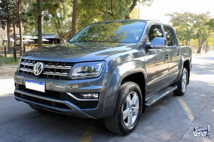 Volkswagen amarok highline pack 4x4 my17 impecable