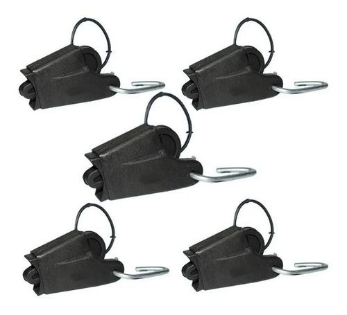 5 mordazas de retención para fibra óptica y telefonía