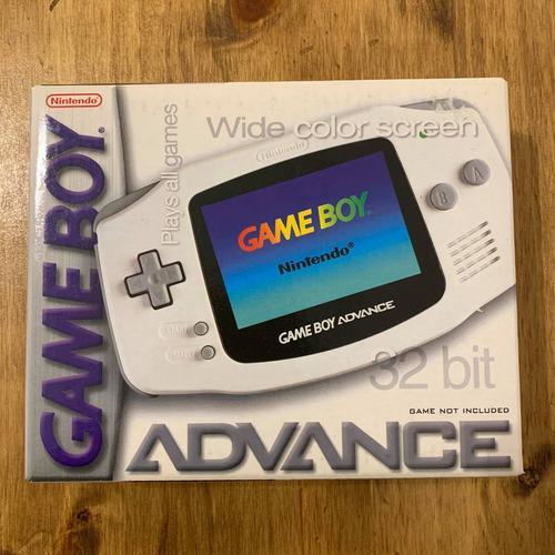 Consola game boy advance white artica nueva complet nintendo