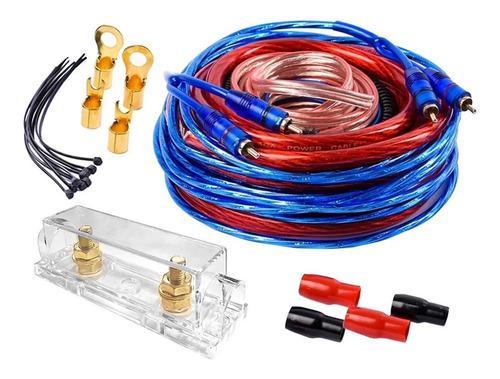 Kit de cables 4ga 4gpk fusilera y accesorios planetaudio p