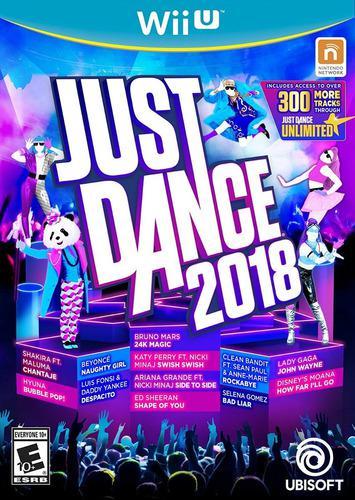 Pack juegos digitales wii u. just dance 2018+ pack oferta!