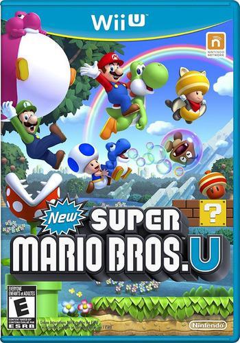 Pack juegos digitales wii u. new mario bros u + pack oferta
