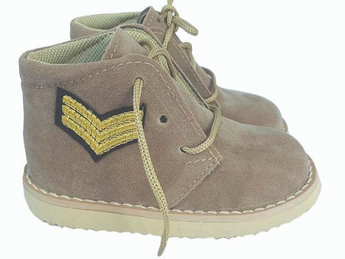 Botita zapato infantil gamuza bebe caminantes nena- nene