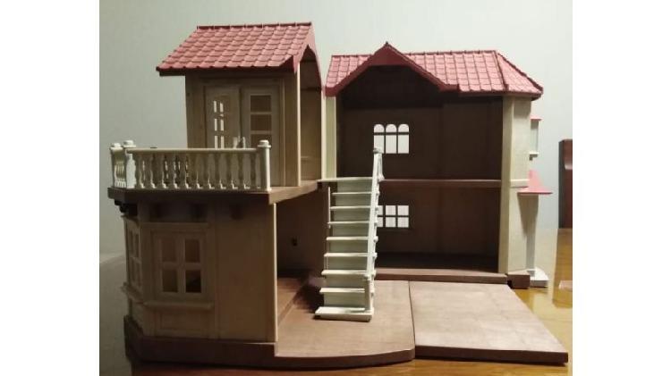 Casa para familia sylvanians