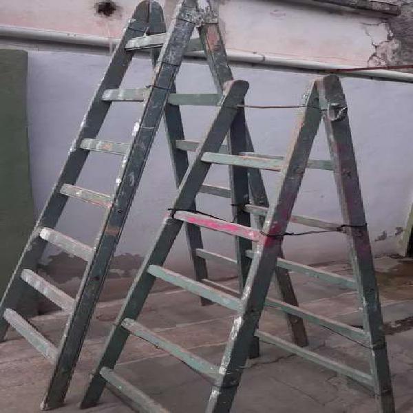 Escaleras usadas 7 y 5 escalones