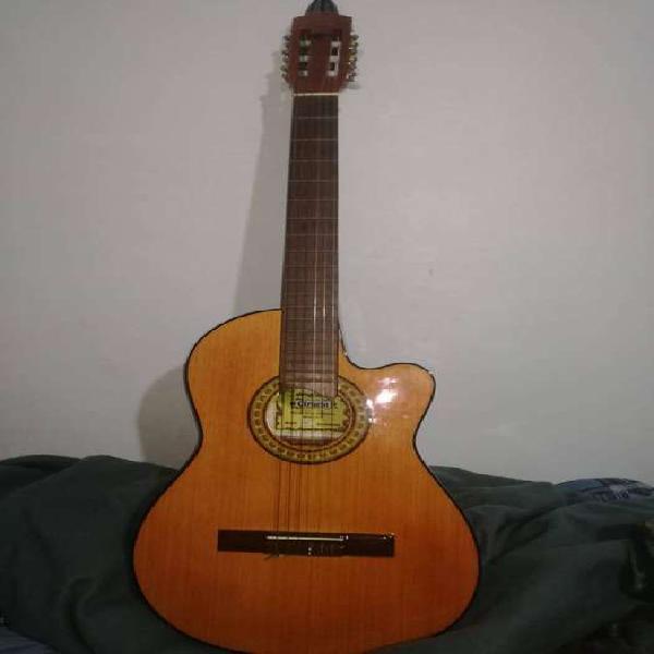 Guitarra gracia m8 eq con amplificador decound rs 26