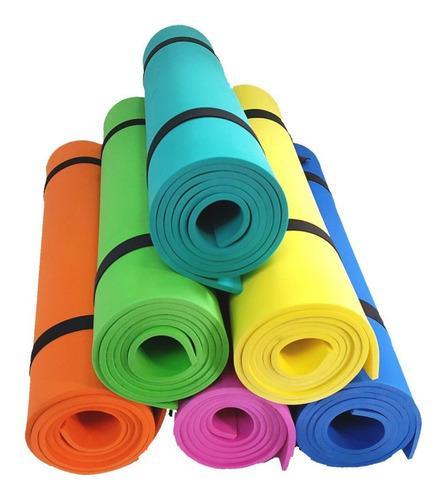 Kit colchoneta goma eva 160x57cm x6mm x 3 u. yoga, pilates