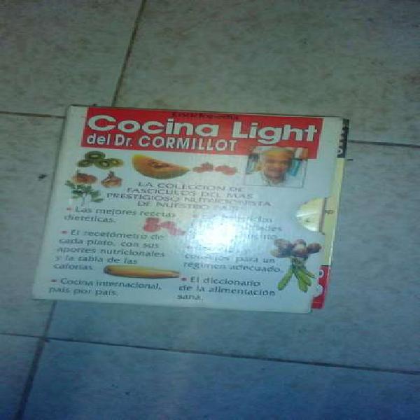 Libros de cocina light del dr. cormillot. oportunidad. c/u