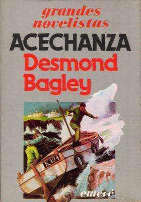 Libro: acechanza, de desmond bagley [novela de espionaje]
