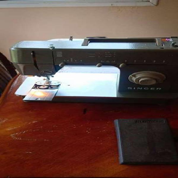 Maquina de coser singer hd205 c-casi nueva