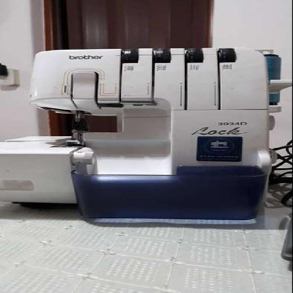 Maquina de coser overlock brother 3034d