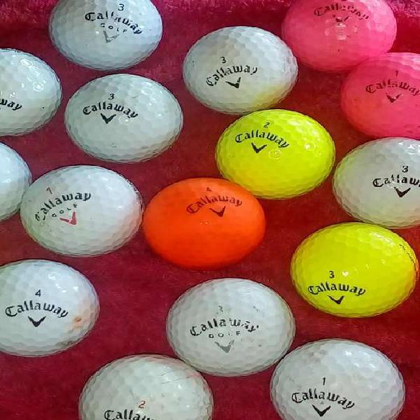 Vendo pelotas de golf usadas