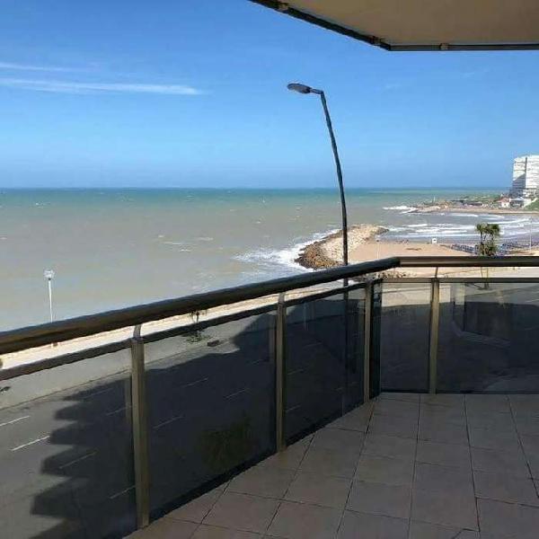 Vista al mar maral 52 4 ambientes 2 cocheras baulera
