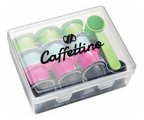 Capsulas nespresso recargables x12 marca caffettino eco