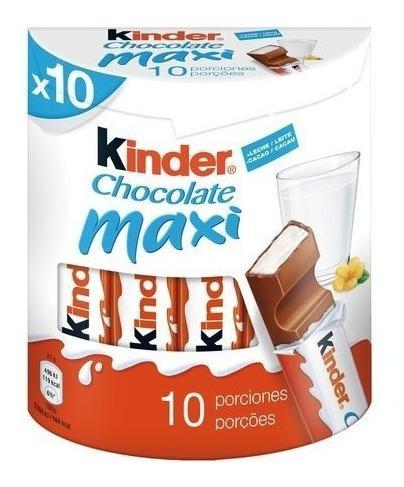 Kinder maxi x10 unidades - oferta en sweet market