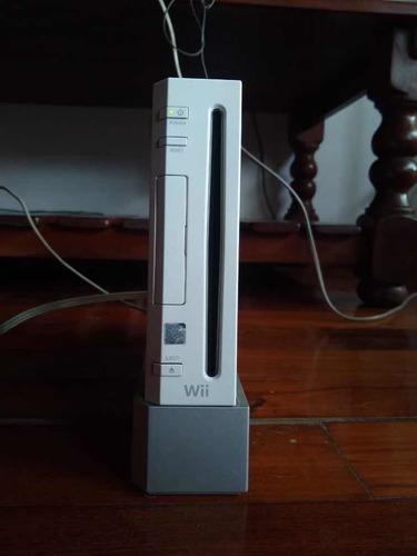 Nintendo wii original usada + juegos + control oferta