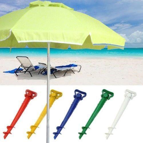 Sombrilla playa 1.8 metros aluminio + saca arena + funda