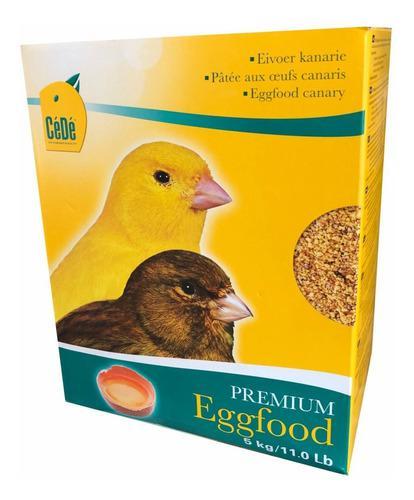 Cede pasta de huevo amarilla x 5 kg premium eggfood