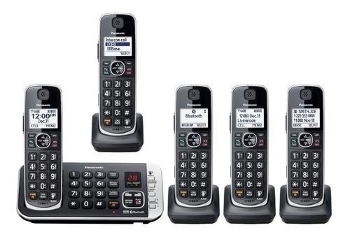 Panasonic inalámbrico contestador kx-tge675 manos libres