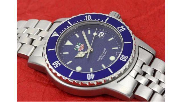 Tag heuer d1214 d0 submariner original vendo