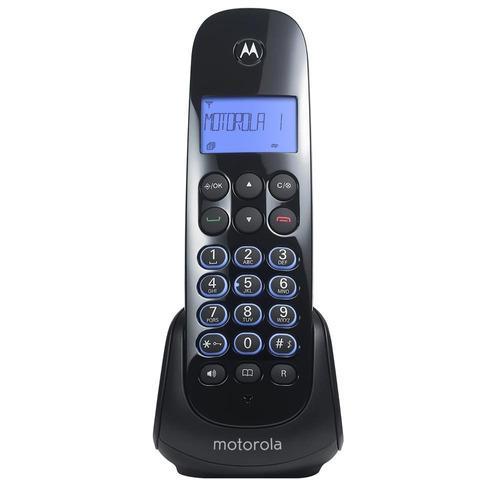 Telefono inalambrico motorola m750 identificador negro