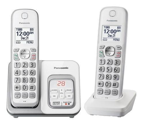 Telefono inalambrico panasonic kx-tgd532 contestador duo