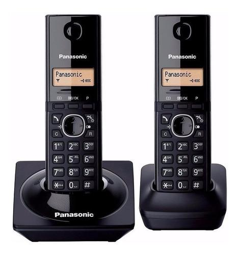 Telefono panasonic duo inalambrico kx tg 1712 ag 6.0 dect id