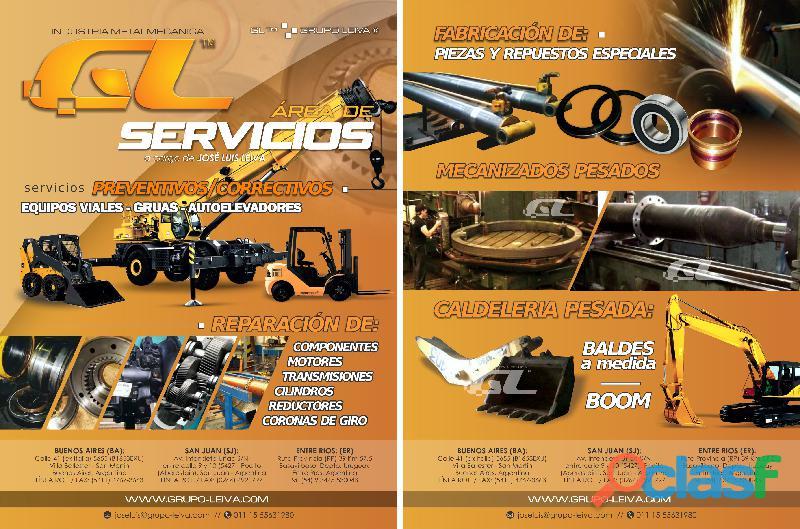 REPARACION Y SERVICE DE GRUAS GRUPO LEIVA / GRUAS REPARACION Y SERVICE GRUPO LEIVA 3