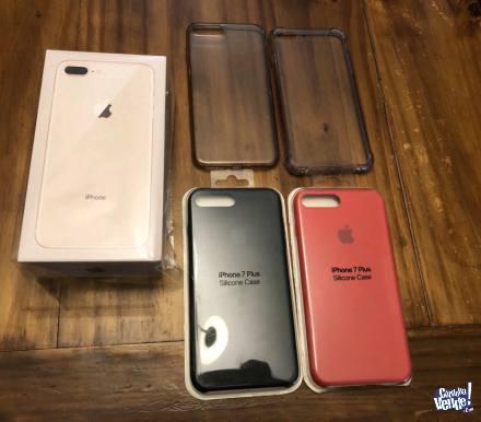 Celular libre apple iphone 8 plus 256gb nuevo caja sellada