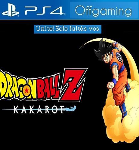 Dragon ball z kakarot ps4 digital - juego playstation