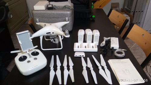 Drone dji phantom 4 pro + full accesorios