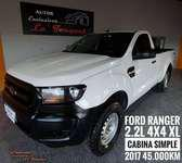 Ford ranger 2.2l 4x4 xl safety cabina simple