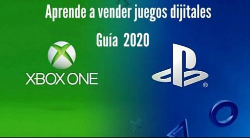 Guiar para vender juegos digitales ps3/ps4 y xbox