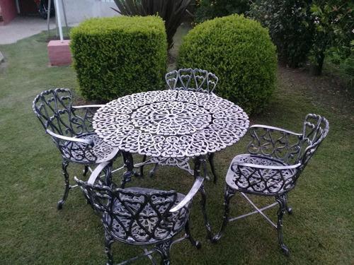 Juegos d jardin en aluminio