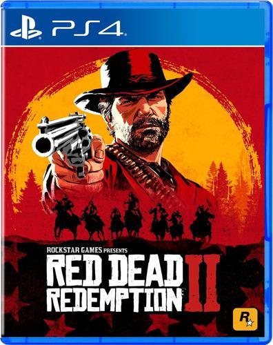 Red dead redemption 2 ps4 juego cd blu-ray nuevo original