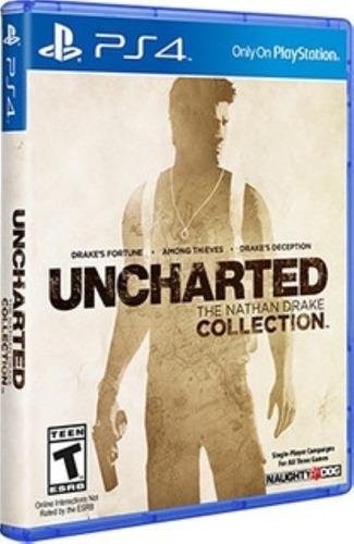 Uncharted the collection ps4 digital principal - 3 juegos