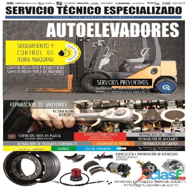 Reparacion de autoelevadores servicio tecnico